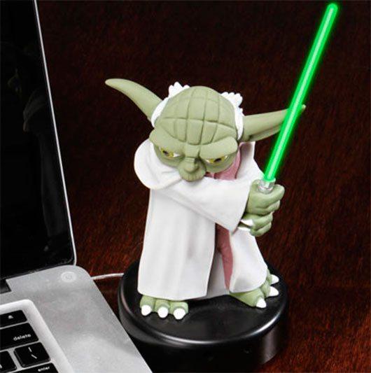 Yoda USB Desk protector
