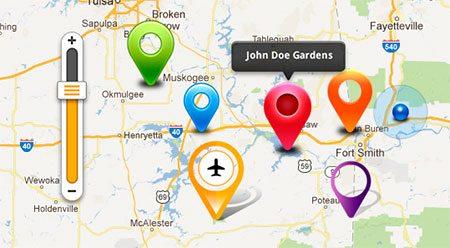 Map GUI kit