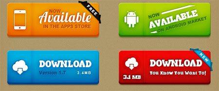Buttons UI Kit