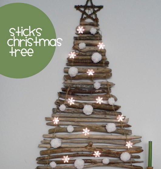 Sticks Christmas Tree