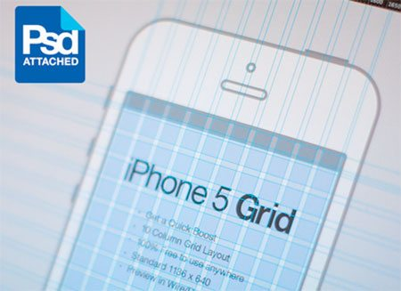iPhone 5 Grid by Eddie Lobanovskiy