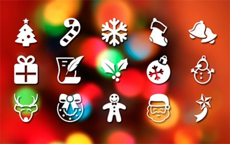 Pictonic - Font Icons: Christmas by Creative Sloth