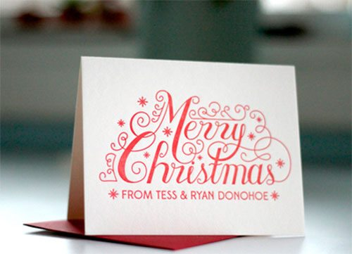 Merry Christmas by Tess Donohoe
