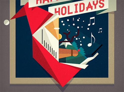 Happy Holidays by Nicola Felaco