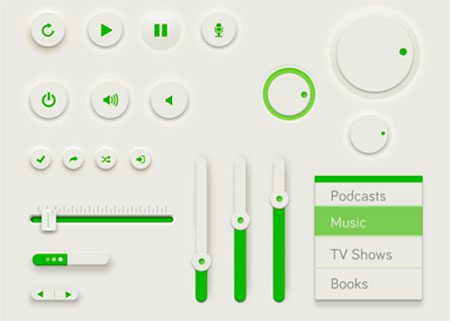 Green UI by Rovane Durso