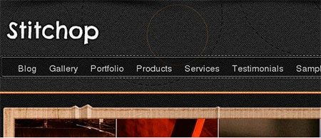 Stitchop - portfolio wp theme