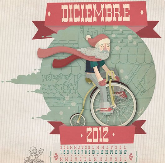 Diciembre Recreo Ilustrado