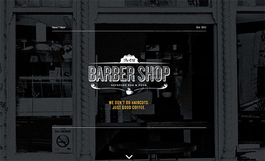 The Old Barber Shop