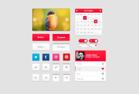 UI Freebies by Armas B