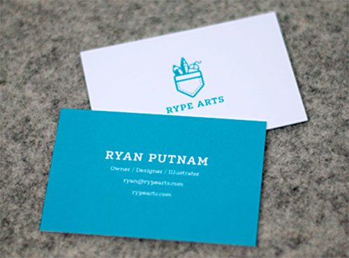 RA Business Cards by Ryan Putnam