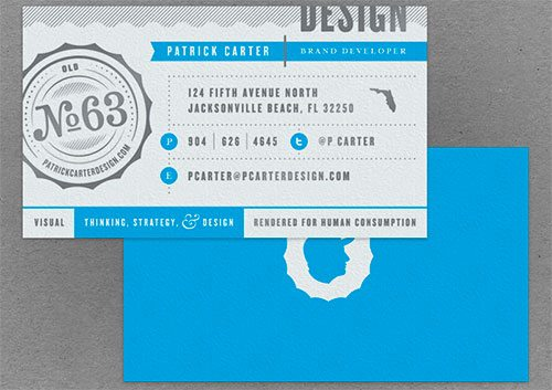 Business Card Design by Patrick Carter