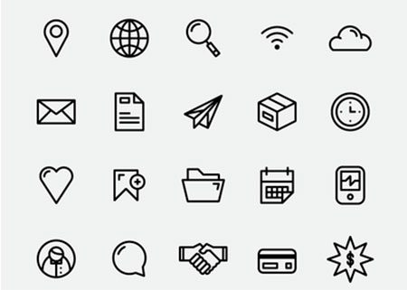 Simple Icon Set by Joshua Andrew Davies