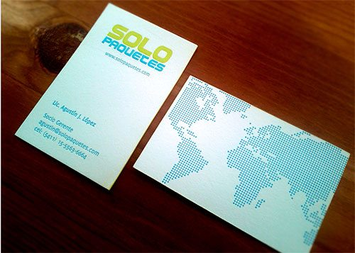 SoloPaquetes business card