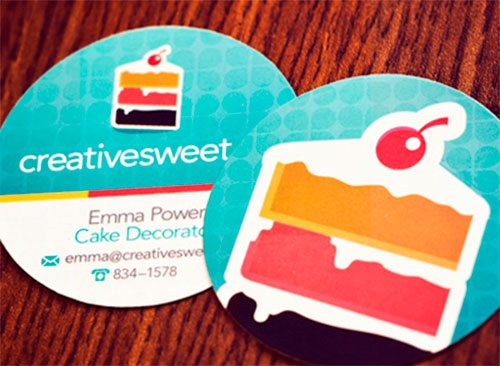 Creative Sweet Business Cards by Andrew Power