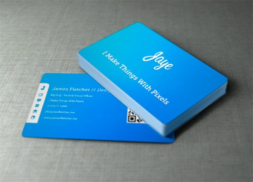 Jaye Business Cards by James Fletcher