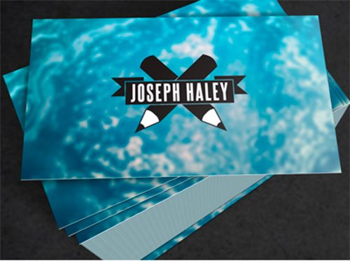 New Business Cards by Joseph Haley