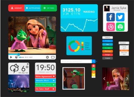 UI Kit by Jamie Syke