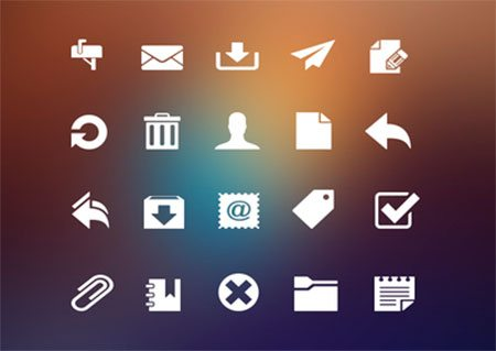 Mail Icons by Finbarrs Oketunji