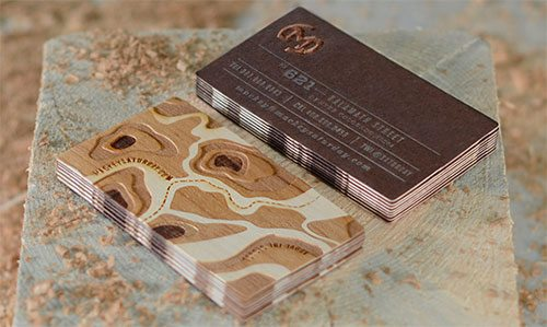 New Business Cards by Mackey Saturday