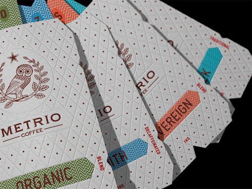 Metrio Coffee Packaging