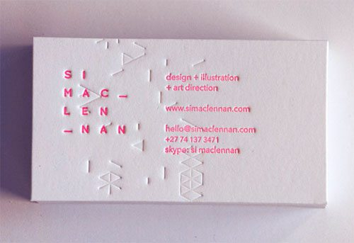 Business Cards 2012