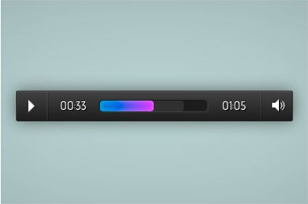 Responsive And Touch Friendly Audio Player by Osvaldas Valutis