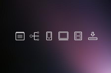 Freebie: UX Icons by Nicki Stearns