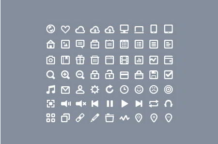 63 Icons by Roman Bulah