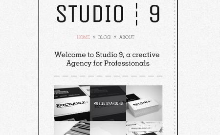 Creative Agency Portfolio Template