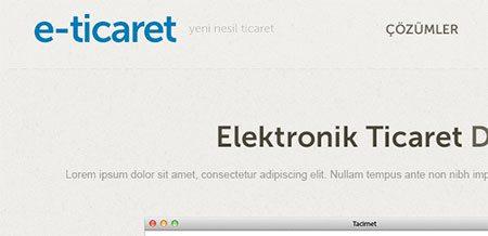 E-Ticarit