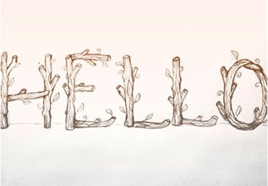 Hello Sketch by Leah Lin