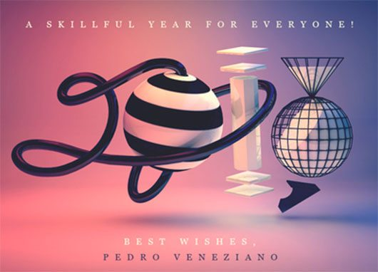 Happy 2013! by Pedro Veneziano