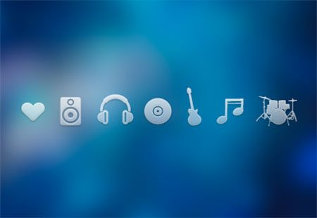 Music Icons by Daisy Binks