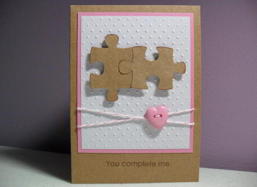 Puzzle Pieces Card