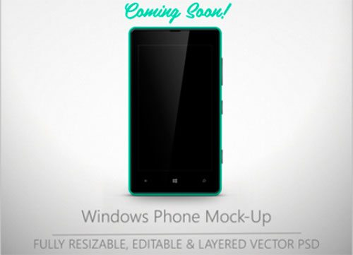 Lumia 820 Mock-Up by Eloy Valverde