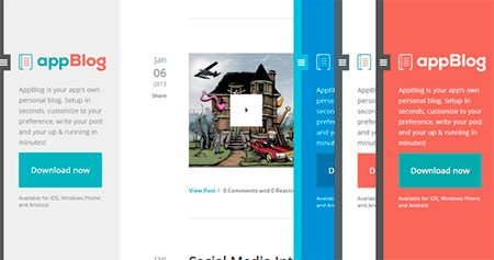 AppBlog Tumblr Theme