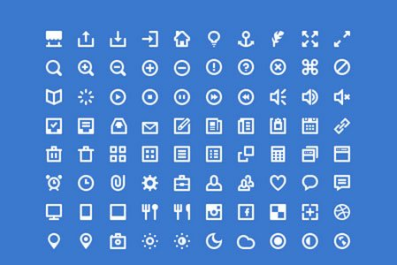 80 Shades of White Icons by Victor Erixon