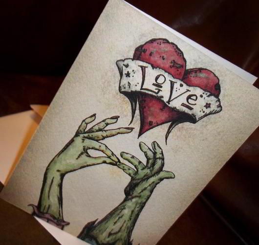 Valentines Zombie Love