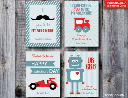 25 Stunning Valentines Day Cards – Boy Valentines Day Cards
