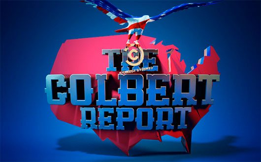 The Colbert Report by Luke James