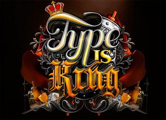 3D Type is King