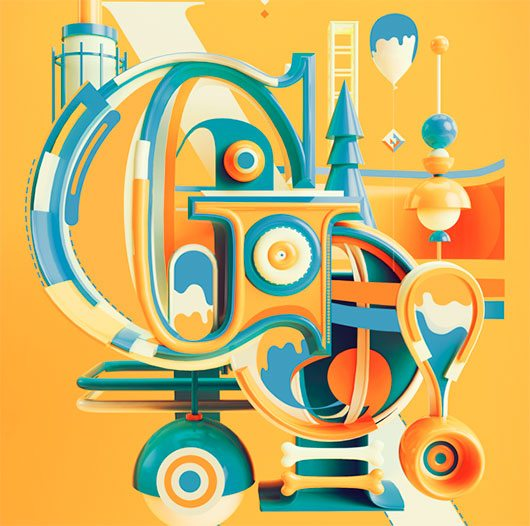 Typography 10. by Peter Tarka