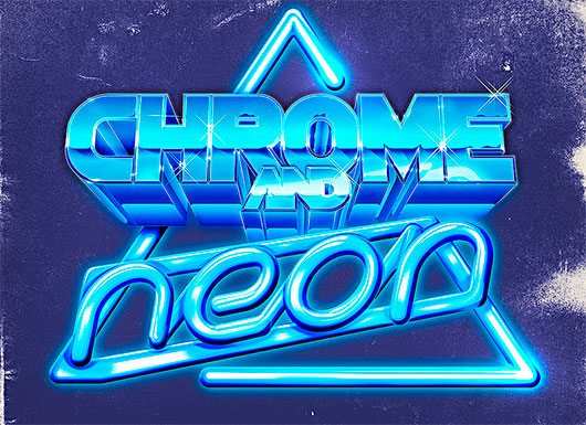 Chrome And Neon
