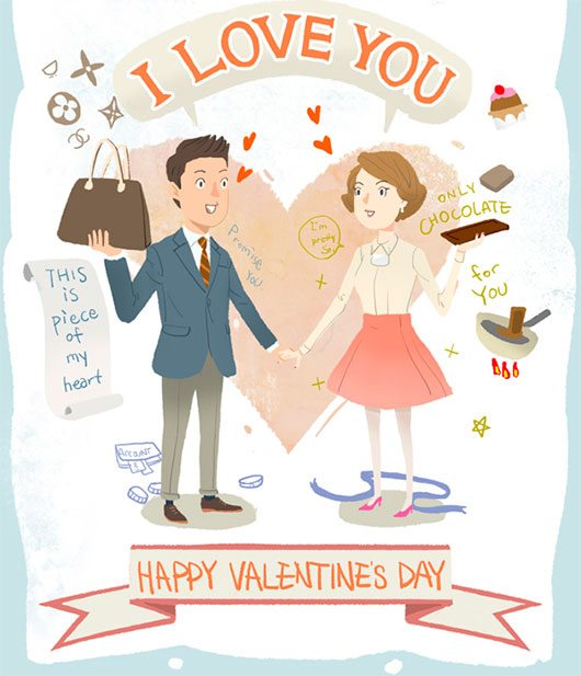 HAPPY VALENTINE'S DAY!! by NJ SUNG