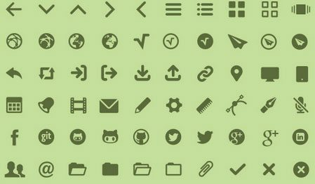MFG Labs icon sets