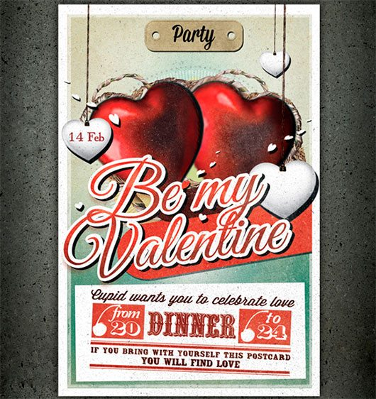 Valentine Flyer by anothergraphic
