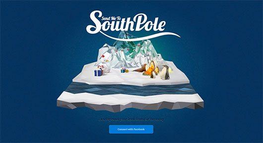 Send me to South Pole