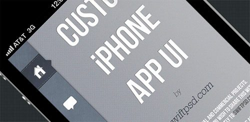 Custom iPhone App UI