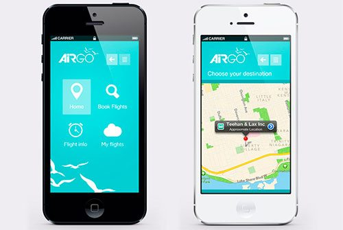 Airgo iphone App