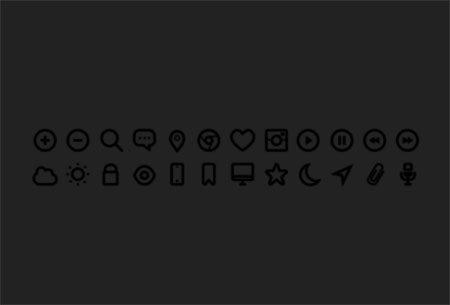 24 Free Icons by Michael Dolejš
